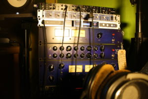 Tonstudio Audiospektrum analoge Kette