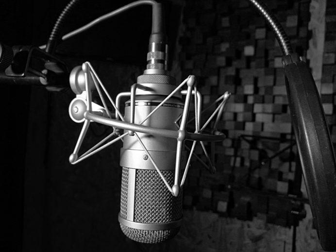 Audiospektrum Röhrenmikrofon