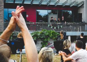 Publikumansicht bei Moritz Kruit im HDJ Itzehoe
